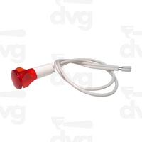 Red Pilot Light With Cable
