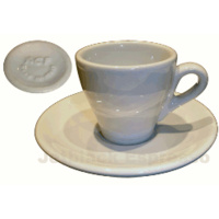 ACF Espresso Cup - 70cc - White - Set of 6 - B46