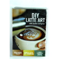 DIY Latte Art with Scottie Callaghan DVD