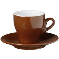 Nuova Point Milano Cappuccino Cup 155cc Brown Set of 6