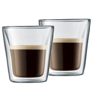 Bodum Canteen Glasses - Latte (200ml)