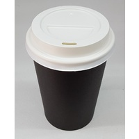 Takeaway Coffee Cup and Lid - 8oz (100)